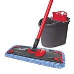 Fußboden-Reinigung